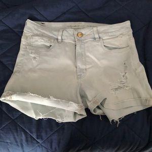 American Eagle- high rise shorts